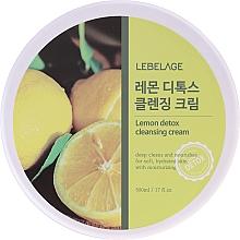 Parfumuri și produse cosmetice Cremă de curățare cu extract de lămâie - Lebelage Lemon Detox Cleansing Cream