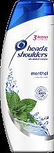 """Parfumuri și produse cosmetice Șampon anti-mătreață """"Mentol"""" - Head & Shoulders Menthol"""
