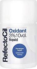 Parfumuri și produse cosmetice Окислитель 3% жидкий - RefectoCil Oxidant 3% 10 vol. Liquid