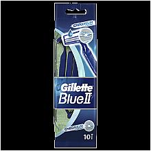 Parfumuri și produse cosmetice Set aparate de ras de unică folosință, 10 buc. - Gillette Blue II Chromium
