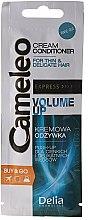 Духи, Парфюмерия, косметика Крем-кондиционер для волос - Delia Cameleo Volume Up Cream Conditioner(пробник)