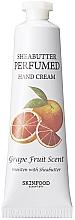Parfumuri și produse cosmetice Cremă de mâini - Skinfood Shea Butter Perfumed Hand Cream Grapefruit Scent