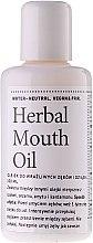 Parfumuri și produse cosmetice Agent de clătire pentru cavitatea bucală - Hydrophil Herbal Mouth Oil