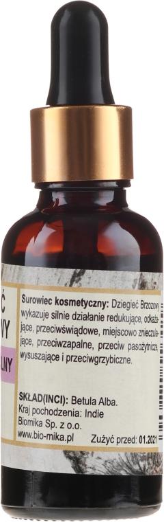 "Ulei esențial ""Mesteacăn"" - Biomika Oil — Imagine N2"
