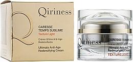 Parfumuri și produse cosmetice Cremă regenerantă anti-îmbătrânire - Qiriness Caresse Temps Sublime Light