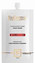 Parfumuri și produse cosmetice Cremă de noapte pentru față - BioDermic Caviar Extract Night Cream (mini)