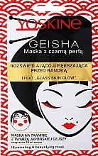 Parfumuri și produse cosmetice Mască iluminantă cu perle negre - Yoskine Geisha Mask