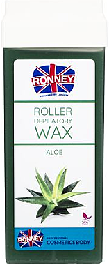 "Ceară depilatoare, cartuș ""Aloe"" - Ronney Wax Cartridge Aloe"