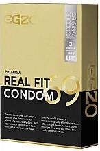 Parfumuri și produse cosmetice Prezervative anatomice - Egzo Real Fit