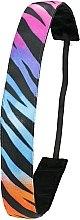 Parfumuri și produse cosmetice Bandă elastică de păr, multicoloră - Ivybands Racing Stripes Hair Band