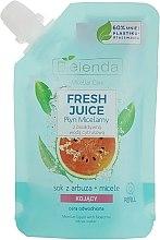 """Parfumuri și produse cosmetice Apă micelară """"Pepene verde"""" - Bielenda Fresh Juice Detoxifying Face Micellar Water Watermelon"""