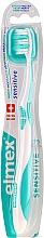 Parfumuri și produse cosmetice Periuță de dinți moale, turcoaz - Elmex Sensitive Toothbrush Extra Soft