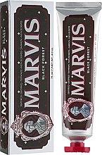 """Parfumuri și produse cosmetice Pastă de dinți """"Pădurea Neagră"""" - Marvis Black Forest"""