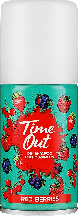 Șampon uscat pentru păr - Time Out Dry Shampoo Red Berries