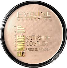 Духи, Парфюмерия, косметика Компактная пудра - Eveline Cosmetics Anti-Shine Complex