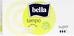 Духи, Парфюмерия, косметика Тампоны, 16 шт. - Bella Bella Premium Comfort Super Tampo