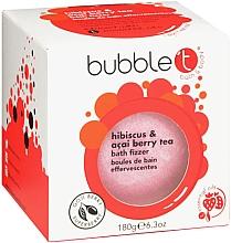 """Parfumuri și produse cosmetice Bombă de baie """"Hibiscus și Acai boabe"""" - Bubble T Bath Fizzer Hibiscus & Acai Berry"""