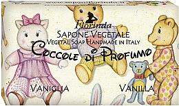 "Parfumuri și produse cosmetice Săpun natural ""Vanilie"" - Florinda Sapone Vegetale Vegetal Soap Vanilla"
