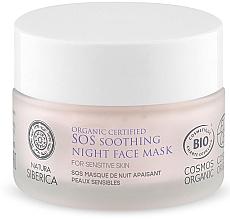 Parfumuri și produse cosmetice Mască-SOS calmantă de noapte pentru față - Natura Siberica Organic Certified SOS Soothing Night Face Mask
