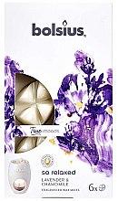 """Parfumuri și produse cosmetice Ceara aromatică """"Lavandă și mușețel"""" - Bolsius True Moods So Relaxed Lavender & Chamomile"""