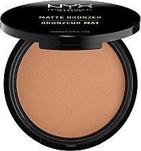 Parfumuri și produse cosmetice Pudră bronzer matifiantă - NYX Matte Bronzer