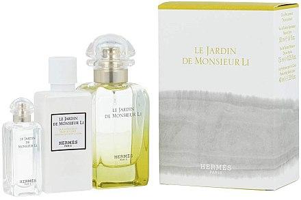 Hermes Le Jardin de Monsieur Li - Set (edt/50ml + b/lot/40ml + edt/7.5ml)