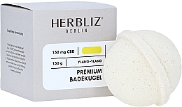 "Parfumuri și produse cosmetice Bombă de baie ""Ylang-ylang"" - Herbliz CBD"