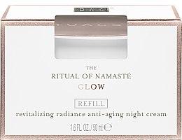 Parfumuri și produse cosmetice Cremă de noapte pentru față - Rituals The Ritual Of Namaste Radiance Anti-Aging Night Cream Refill