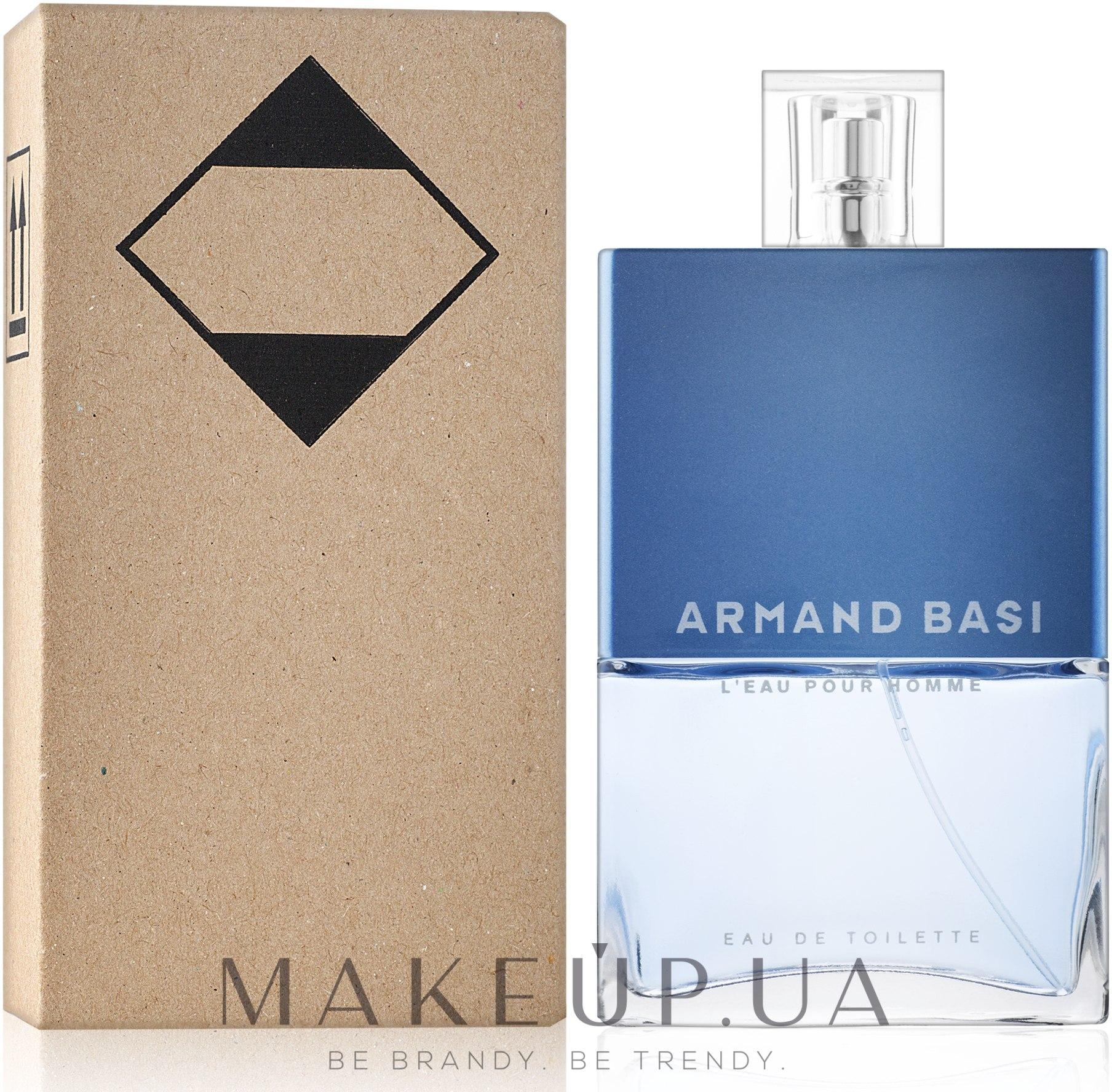 Armand Basi L'Eau Pour Homme - Apă de toaletă (tester cu capac) — Imagine 125 ml