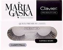 Parfumuri și produse cosmetice Gene false - Clavier Quick Premium Lashes GentleWOWman 803