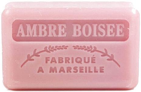 """Săpun de Marsilia """"Lemn Chihlimbar"""" - Foufour Savonnette Marseillaise Ambre Boisee — фото N1"""