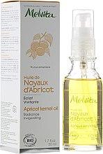 Parfumuri și produse cosmetice Ulei din sâmburi de caisă pentru față - Melvita Huiles De Beaute Apricot Kernel Oil