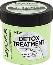 Parfumuri și produse cosmetice Mască de detoxifiere cu argilă pentru păr - Syoss Detox Treatment Clay