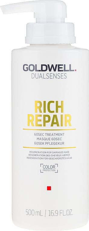 Mască regenerantă pentru păr - Goldwell Rich Repair Treatment