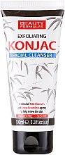 Parfumuri și produse cosmetice Gel pentru curățarea feței - Beauty Formulas Exfoliating Konjac Facial Cleanser