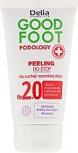 Духи, Парфюмерия, косметика Скраб для ног - Delia Cosmetics Good Foot Podology Nr 2.0