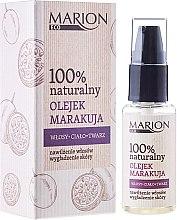 Parfumuri și produse cosmetice Ulei de păr din maracuja pentru corp şi faţa - Marion Eco Oil