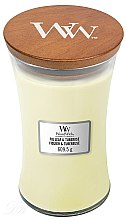 Parfumuri și produse cosmetice Lumânare aromatică - WoodWick Hourglass Candle Fig Leaf and Tuberose