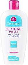 Lapte demachiant - Dermacol Cleansing Face Milk Hypoallergenic — Imagine N1