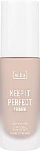 Parfumuri și produse cosmetice Primer- bază de machiaj - Wibo Keep It Perfect Soft Matte