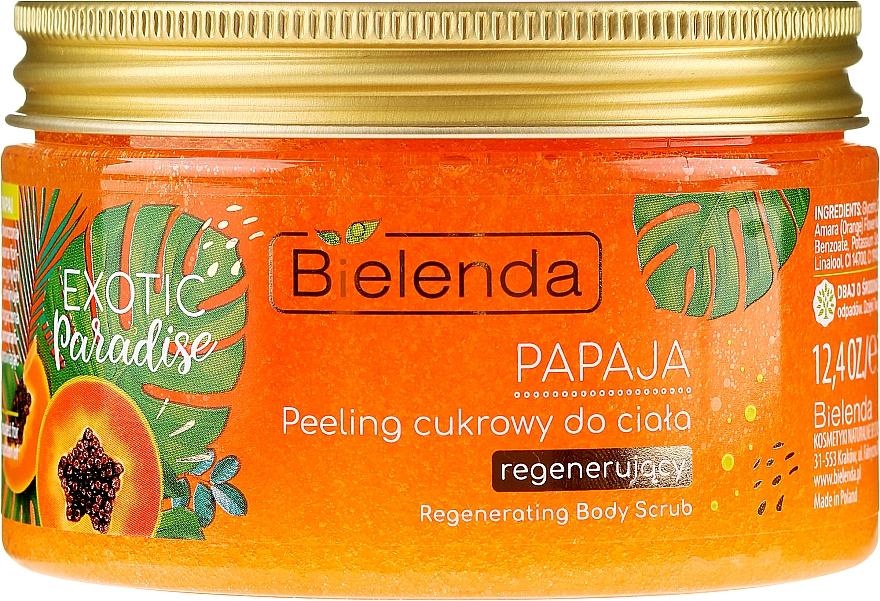 """Peeling de corp """"Papaya"""" - Bielenda Exotic Paradise Peel — Imagine N1"""