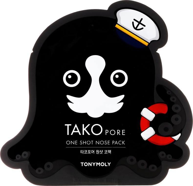 Mască-plasturi pentru punctele negre - Tony Moly Tako Pore One Shot Nose