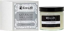 """Parfumuri și produse cosmetice Lumânare aromată """"Ciocolată"""" - Eco Life Candles"""