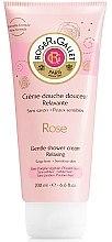 "Parfumuri și produse cosmetice Cremă de duș ""Trandafir"" - Roger & Gallet Rose Gentle Shower Cream Relaxing"