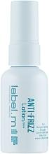 Parfumuri și produse cosmetice Loțiune cu efect de netezire pentru păr - Label.m Anti-Frizz Lotion