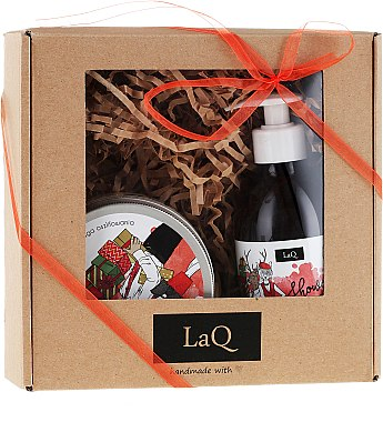 Set - LaQ (sh/gel/300ml + peeling/200ml)
