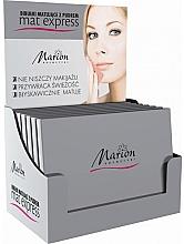Parfumuri și produse cosmetice Set șervețele matifiante cu pudră pentru față, 4+1 buc - Marion Mat Express