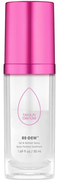 Spray fixator pentru machiaj - Beautyblender Re-Dew Set & Refresh Spray — Imagine N1