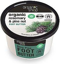 Parfumuri și produse cosmetice Unt pentru picioare cu extract de cedru - Organic shop Foot Butter Organic Cedar and Rose