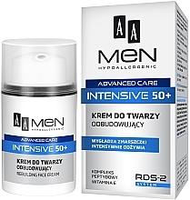Parfumuri și produse cosmetice Cremă de față regenerantă - AA Men Advanced Care Intensive 50+ Face Cream Rebuilding